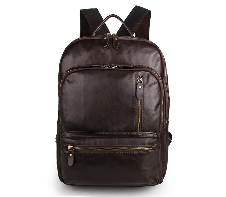 Fashion Design Men Backpacks Genuine Leather Female Backpack Women Laptop bag For Girls Large Capacity Travel Bags #MD-J7313 nigedu brand genuine leather women backpacks large capacity female school bag laptop backpack girls shoulder travel mochila