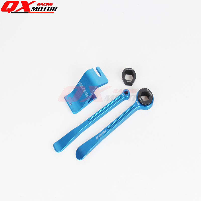 Free shipping Tyre Iron Set Spanner Ring With Hex Wrench Head and tyre holder 10/13/27/32mm fit European bike 30mm installation size plastic demounting head with metal flange tyre changer accessory tyre changer tool head