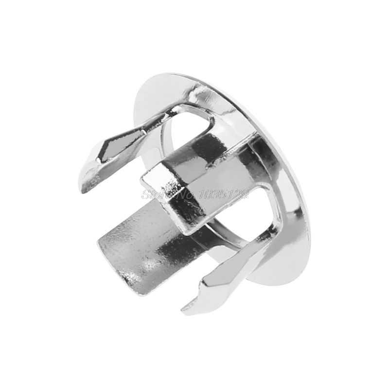 Badkamer Wastafel Sink Overloop Ring Zes-voet Ronde Insert Chrome Hole Cover Cap MMP Rental & DropShip