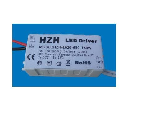 LED constant current driver;AC100V-260V input,3*1W/350ma output;CE ROHS approved