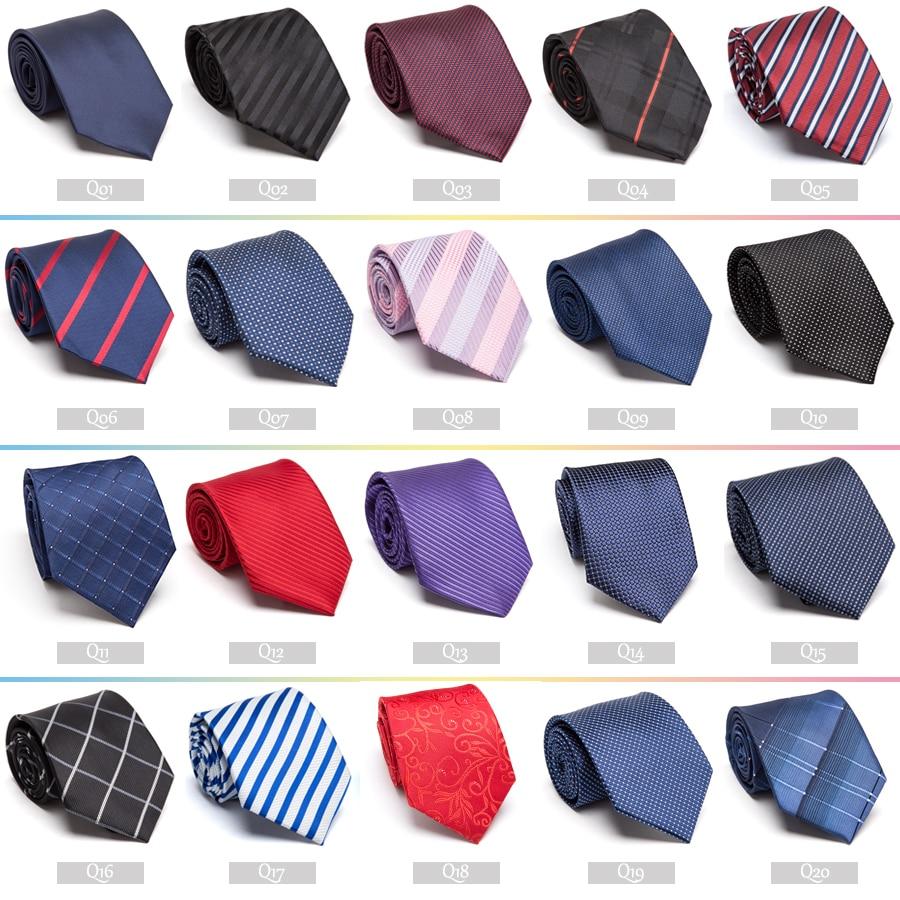Męski krawat Formalny ślub firmowy vestidos Klasyczny pasek - Akcesoria odzieżowe - Zdjęcie 6