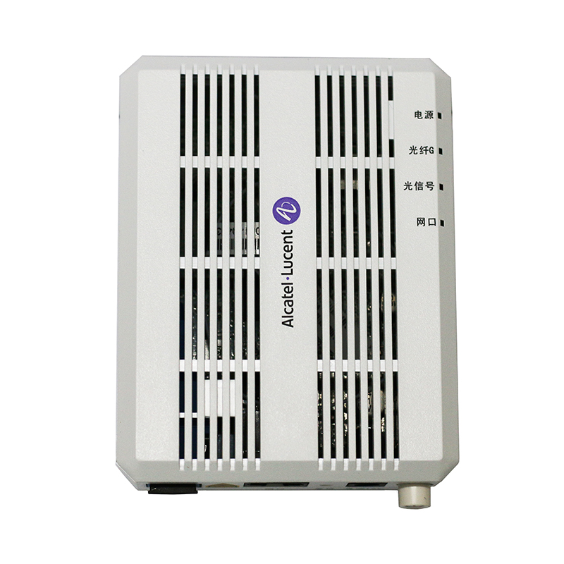 US $13 95 10% OFF|Alcatel Lucent Bell Gpon ONT I 010G onu Router Mode FTTH  FTTO with 1GE ethernet port, SC/UPC input, English Firmware-in Fiber Optic