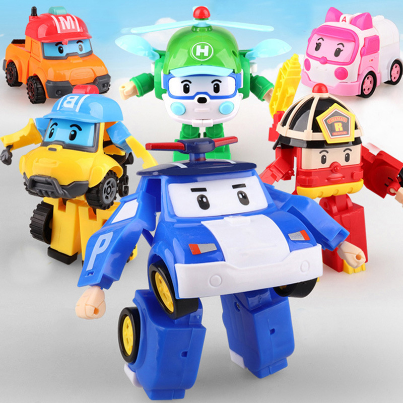 Super Big Transformation robot Korea kids Toys Action Figures Toys super wing Mini Jett toy For Children Christmas gift
