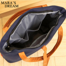 Women Handbags High Quality Canvas Casual Tote Bags Shoulder Bags Women Top-handle Bag