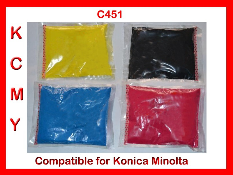 Free shipping toner refill powder compatible for Konica Minolta C451 High quality baldessarini туалетная вода ultimate