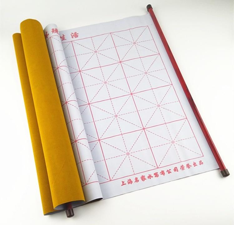 72 * 45cm dik watertekening kalligrafie praktijk imitatie tekening magisch papier rollende doek herhalen schrijven educatief kind speelgoed
