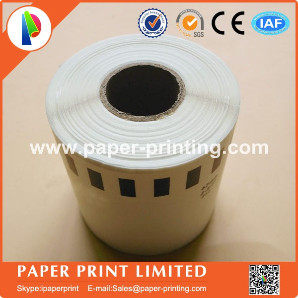 8 Refill Rolls Generic DK-22212 Label 62mm*15.24M Continuous Compatible for Brother Label Printer White Color DK-2212 DK22212