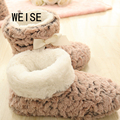 Free Shipping 2017 New Winter Fashion Slippers Women shoes  Thicken Warm home Slippers Brand Winter Slippers  For Women