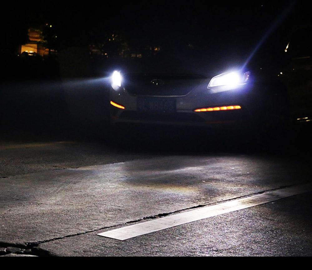 2 pcs Mobil Headlight H7 H4 LED H8 / H11 HB3 / 9005 HB4 / 9006 H1 H3 - Lampu mobil - Foto 5