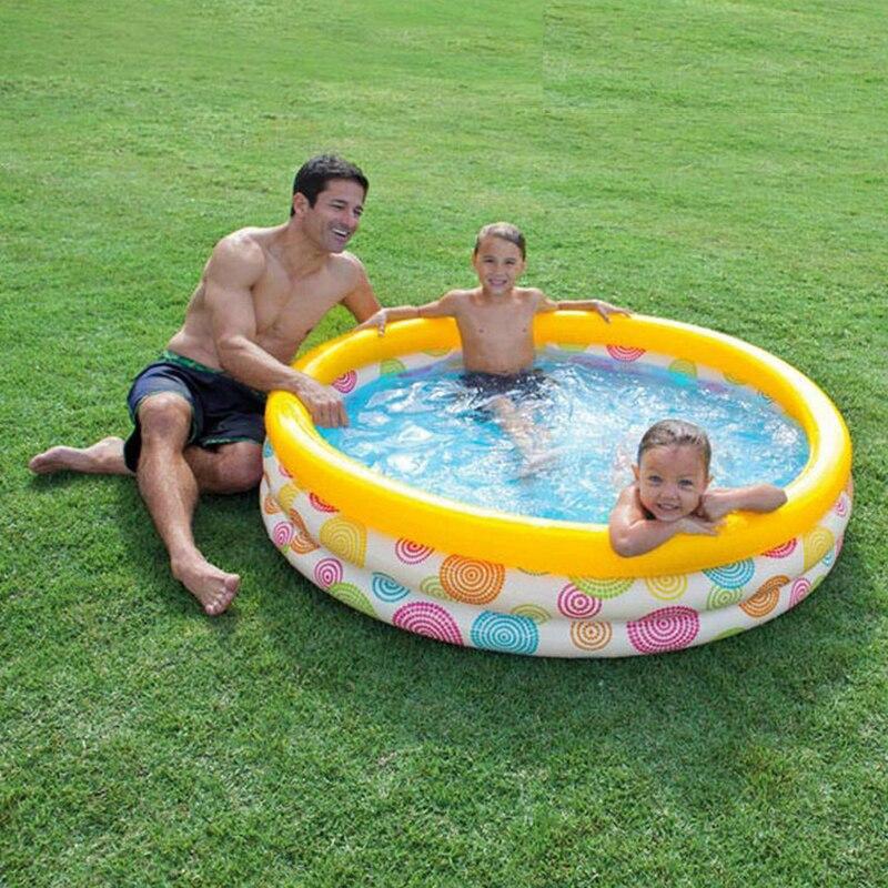 Piscine gonflable 147 cm natation enfant en bas âge sèche bébé piscine pour enfants en plein air intérieur enfant jardin piscines piscine jouet