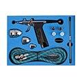 Single-action Trigger Аэрограф для окраски автомобилей Комплект 0.2 мм/0.3 мм/0.5 мм Иглы Аэрограф спрей Краска Пневматический пистолет Для Татуировки