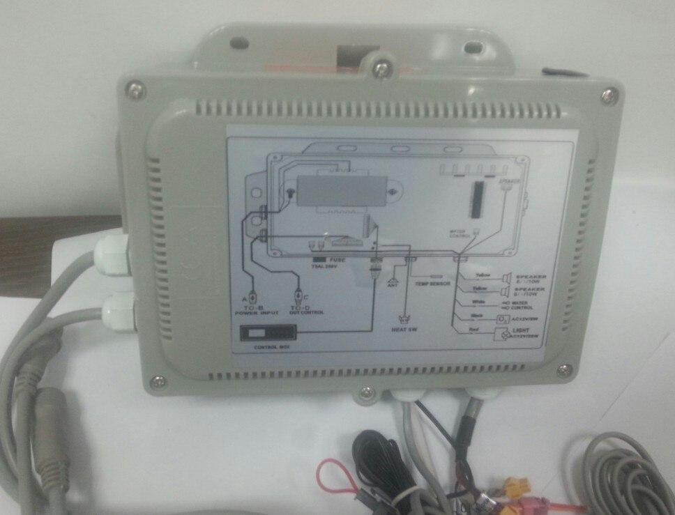 GD7005 deuxième boîtier de commande avec Circuit conseil qui relient contrôle panneau d'affichage