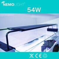 240 В 110 В Nemolight intelligent program control светодио дный 54 Вт аквариумная вода трава Коралловое море свет для см 90 120 см аквариум