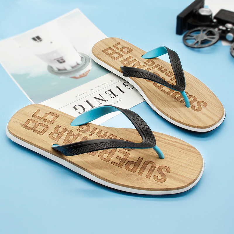 Gienig 2018 fashion summer men beach flip flops home slippers - Men's Shoes