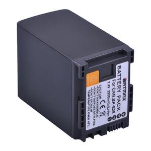 Image 2 - 1Pc 2900mAh BP 820 BP 820 Batteria per Canon LEGRIA GX10, XF400, XF405 HFG20, HFG30, HFG40, HFM41, HFM400, HFS21, HFS30