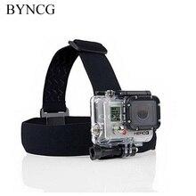 Byncg для GoPro аксессуары оголовье груди headstrap для SJ4000 Go Pro Hero 3/4 Спорт экшн-камеры професси Крепление для штатива