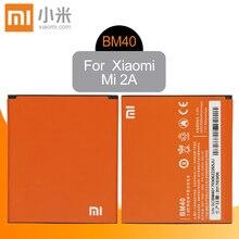 Xiao Mi Original BM40 Replacement Phone Battery High Capacity 2030mAh For Xiaomi 2A Mi2A Redmi 1S 2 Genuine Li-ion
