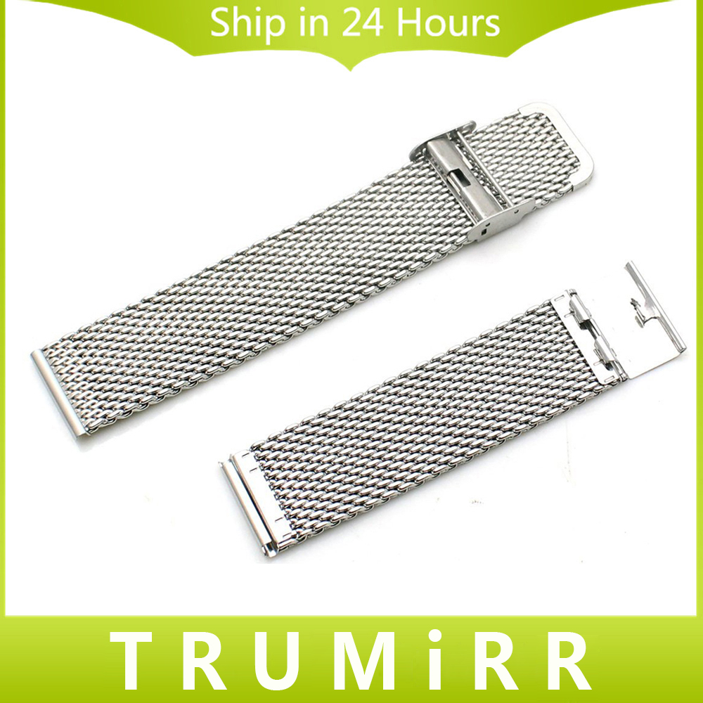 Stainless Steel Smart Watch Band Strap 22mm Watchband for Samsung Galaxy Gear 2 R380 Neo R381 Live R382 Moto 360 2nd Gen 46mm milanese stainless steel watch band tool for moto 360 2 46mm samsung gear 2 r380 neo r381 live r382 replacement strap bracelet