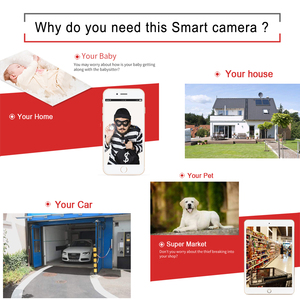 Image 2 - Ip Kamera 1080 p Wifi 720 P 960 P HD Überwachung Home Security Onvif Wireless CCTV Kamera TF Karte Slot infrarot Audio Dome Kamera