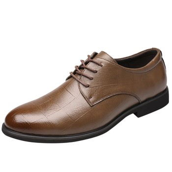Perimedes Leather Dress Shoes for Men - Non-slip