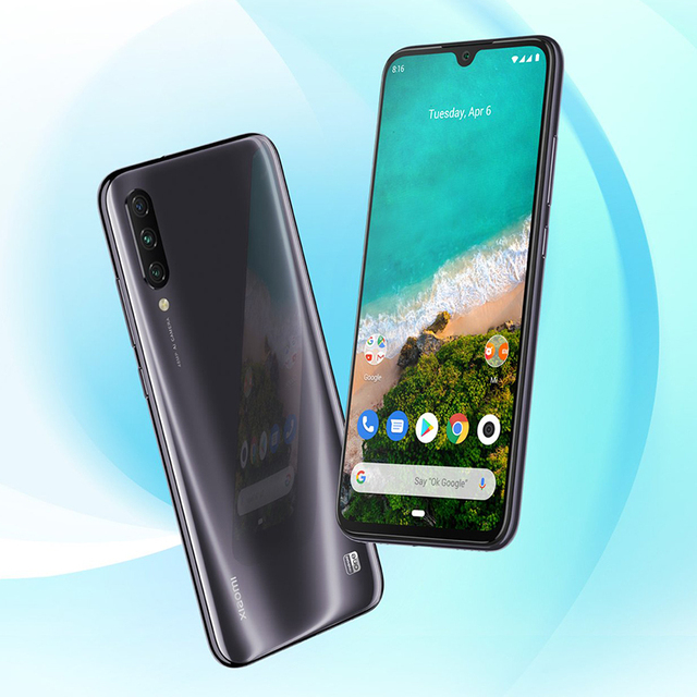 "Global Version Xiaomi Mi A3 4GB 64GB Smartphone 6.088"" AMOLED Snapdragon 665 Octa Core In screen Fingerprint 4030mAh Cellphone 3"
