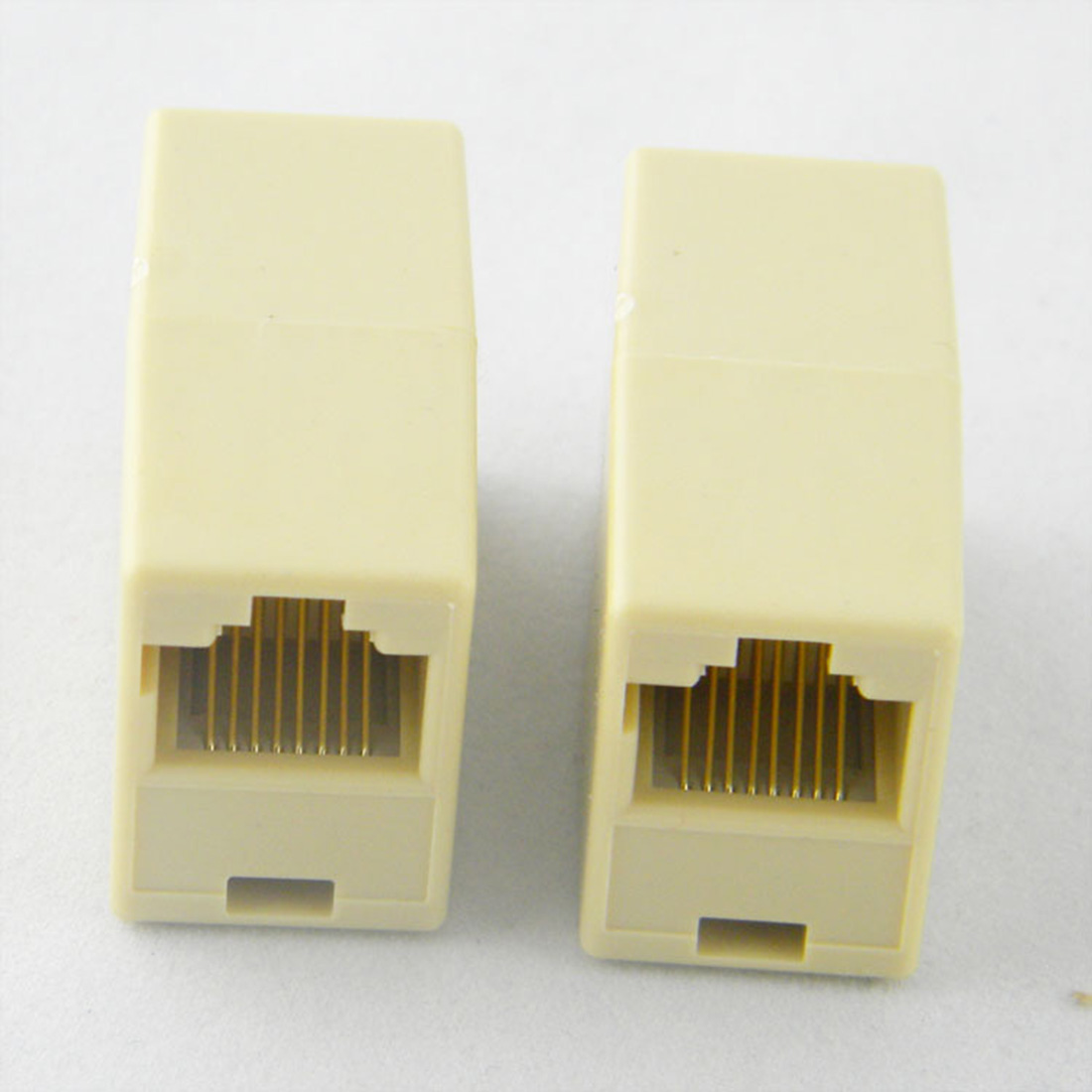 Hot Selling Portable Cable Joiner RJ45 Adapter Network Ethernet Lan Coupler Connector Extender Plug lan ethernet network rj45 1 male to 3 female connector splitter adapter cable h029