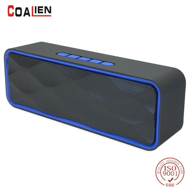 portable sans fil Bluetooth Support Portable Speaker Subwoofer Sound Box Soutien Radio FM Carte TF-rouge uRIqem3V