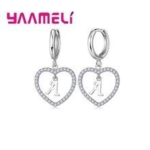 Drop-Earrings 925-Sterling-Silver jewelry Cubic-Zircon Women Cute for Girlfriend Perfect-Present