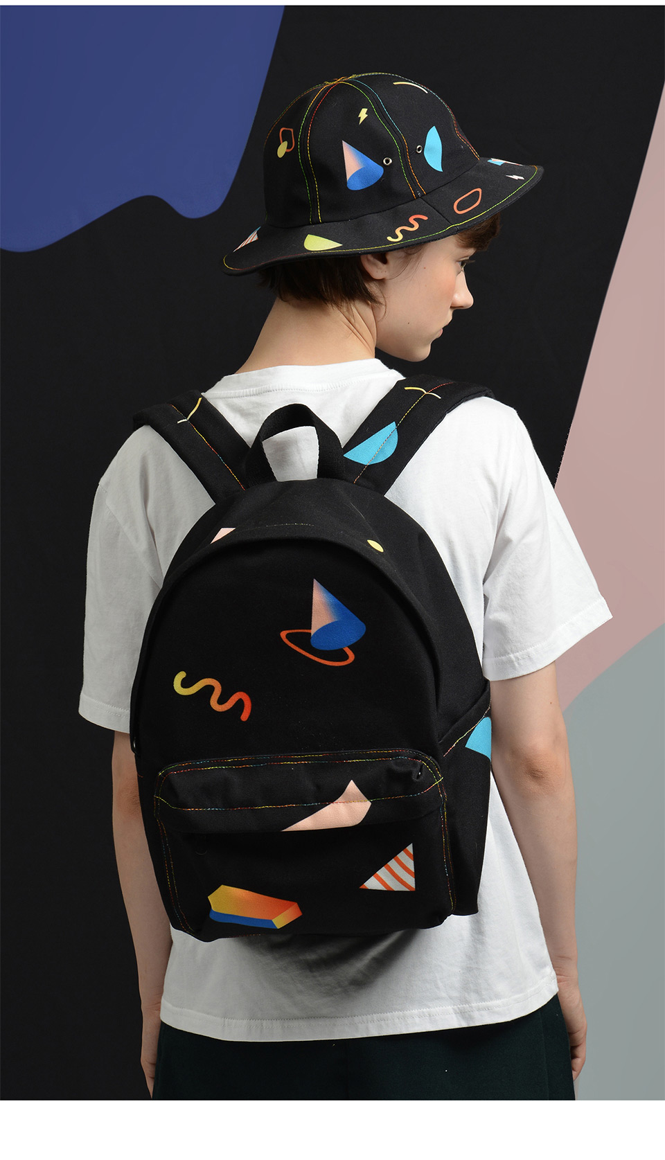 suitable backpacks colored series(FUN 14