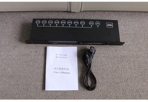 Image 5 - จัดส่งฟรีที่ดีที่สุดคุณภาพ8CH DMX Splitter DMX512แสงเวทีไฟสัญญาณSplitter 8 DMXจำหน่าย