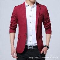 Super cheap ! 2018 new arrival Men's Casual Slim Stylish fit One Button Suit Blazer Coat Jackets