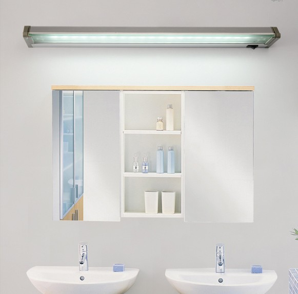 Simple Bathroom Wall Sconces : Simple Acrylic Modern Wall Sconce Waterproof Waterproof Fog Rotation Mirror LED ? Wall Wall ...