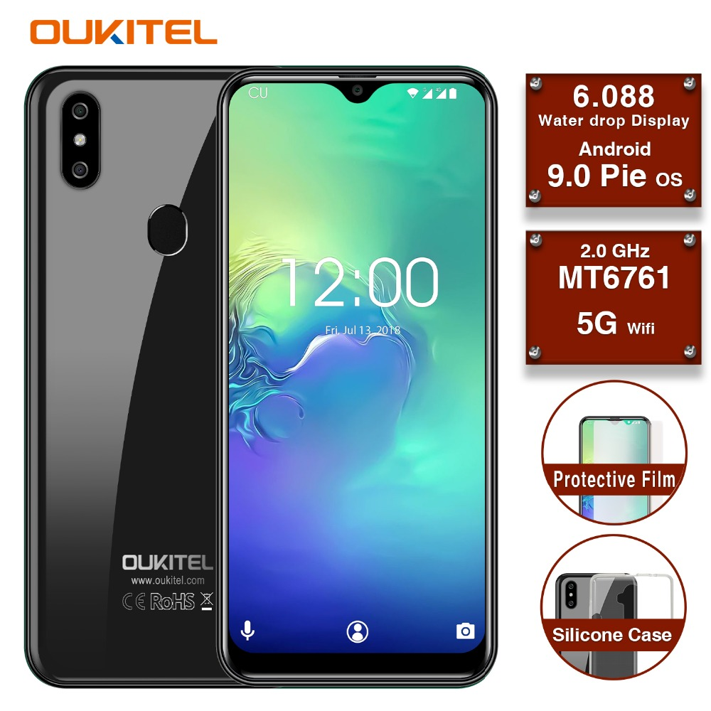 OUKITEL C15 Pro 4G Smartphone 6 088 Inch Water Drop Screen 2GB 16GB Android 9 0