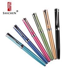 Shichen a003 цельнометаллическая гелевая ручка Учитесь офисная