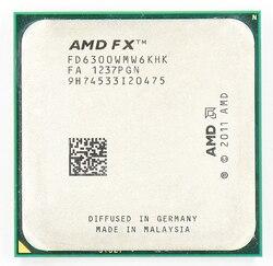 AMD FX 6300 AM3 + 3.5 GHz/8 MB/95 W Enam Inti Prosesor CPU