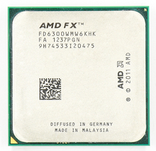 AMD FX 6300 AM3 + 3.5 GHz/8 MB/95 واط ستة الأساسية معالج وحدة المعالجة المركزية