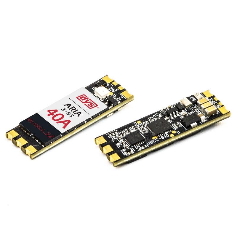 4 pièces DYS Aria BLHeli_32bit 40A ESC 3 6 S BLHeli_32 Dshot1200 compteur de courant intégré pour Drone de course RC MultiRotor FPV-in Pièces et accessoires from Jeux et loisirs    2