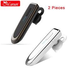М. uruoi 1 Combo (2 шт.) bluetooth kulakl K Портативный Беспроводной наушники Bluetooth 4.1 Гарнитура микрофоном в ухе наушники для смартфонов