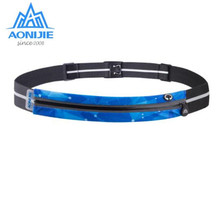 все цены на AONIJIE Adjustable Running Waist Belt Jogging Bag PortableMarathon Waist Packs Ultralight Running Hiking Waist Belt онлайн