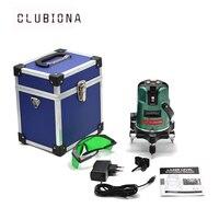 LD GREEN BIG BASE European Standard Plug 4v1h 360 Degree 5 Green Lines Laser Level Prices