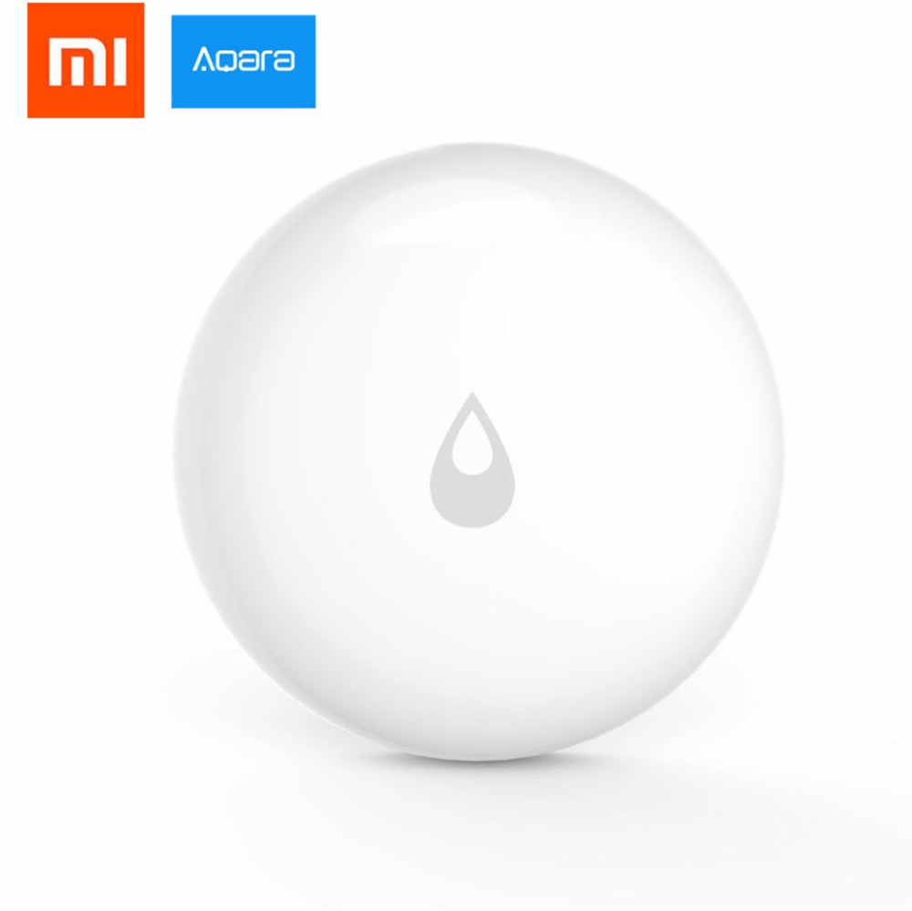 все цены на 2018 Newest Xiaomi Mijia Aqara Water Immersing Sensor Flood Water Leak Detector for Home Remote Alarm Security Soaking Sensor