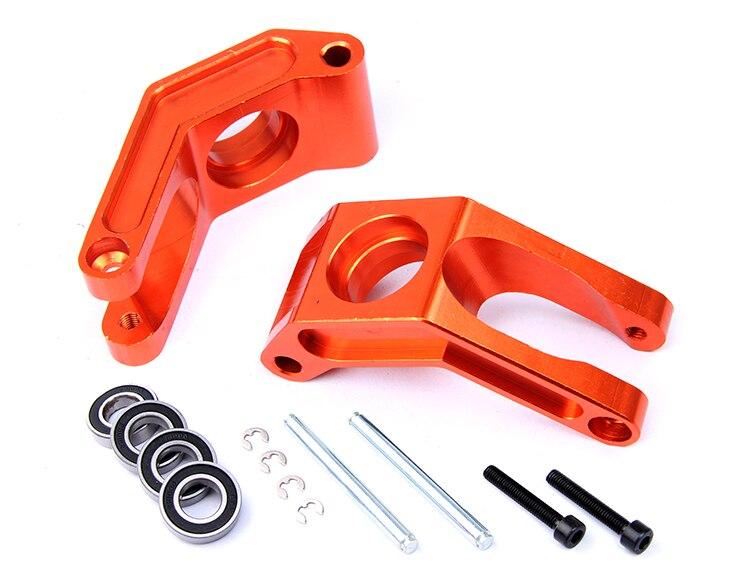 baja C alloy set 85106 wheel hub for HPI KM Rovan RC car cnc alloy metal wheel hub set fit hpi km rovan baja 5b free shipping