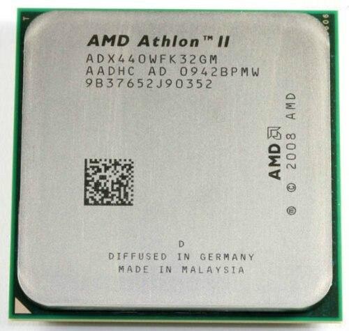 AMD Processor Cache-Socket AM3 Athlon-Ii Scattered-Pieces Triple-Core X3 440 L2 Cpu