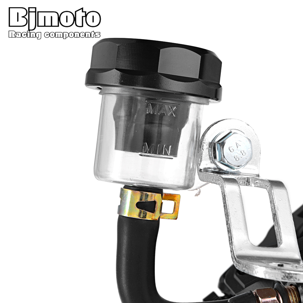 1PCS Moto Scooter Hydraulic Brake pump master cylinder lever handle For Yamaha Kawasaki Honda Sport Street Dirt Bike 19mm Piston in Levers Ropes Cables from Automobiles Motorcycles