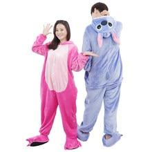 WELIVENICE пижама в виде животного для взрослых Для мужчин Для женщин  стежка костюм фланель теплые мягкие пижамы в целом удобные. e5dde3d60b7d1