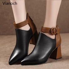 Fashion New Womens High Heels Sexy Platform Pumps Potined Toe Shoes Lady wo180879