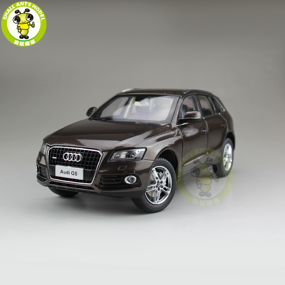 1/18 Audi Q5 SUV Diecast Metal Car SUV Model Toy Girl Kids Boy Gift Collection Brown 1 18 bjc jeep 212 with cannon army military suv diecast alloy metal suv car model toy boy girl birthday gift collection hobby