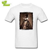 fba38675 Portrait Of Sir Yoda T Shirt Star Wars Man Short Sleeve Round Neck Tee Male  Big Clothes Casual Summer Comfortable Dad Tee Shirt