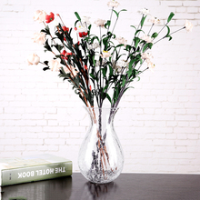 Modern Simple transparent vase terrarium glass containers vases home decora flower pot wedding accessories  home decoration nordic style high quality desktop furnishings glass vases wedding home decoration accessories ornaments flower pot pen holder 40