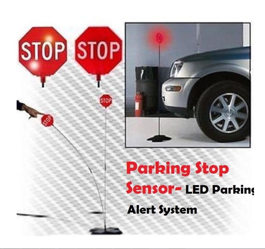 Garage Parking Sensor LED Stop Sign Garage Parking Light Assistant System Flashing Led Light Parking Stop Sign Drop Shipping